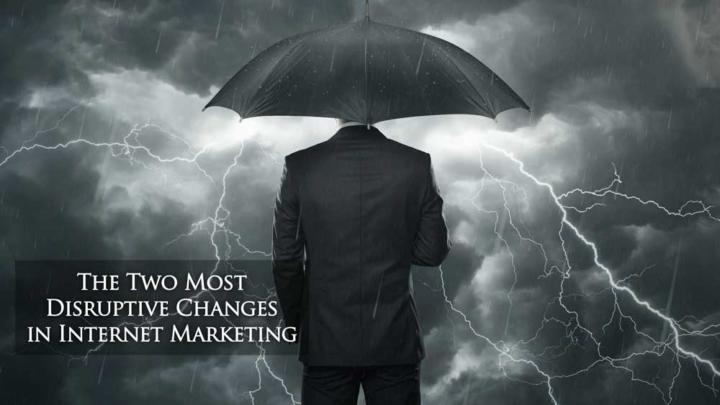 Storm Representing Disruptive Changes In Internet Marketing