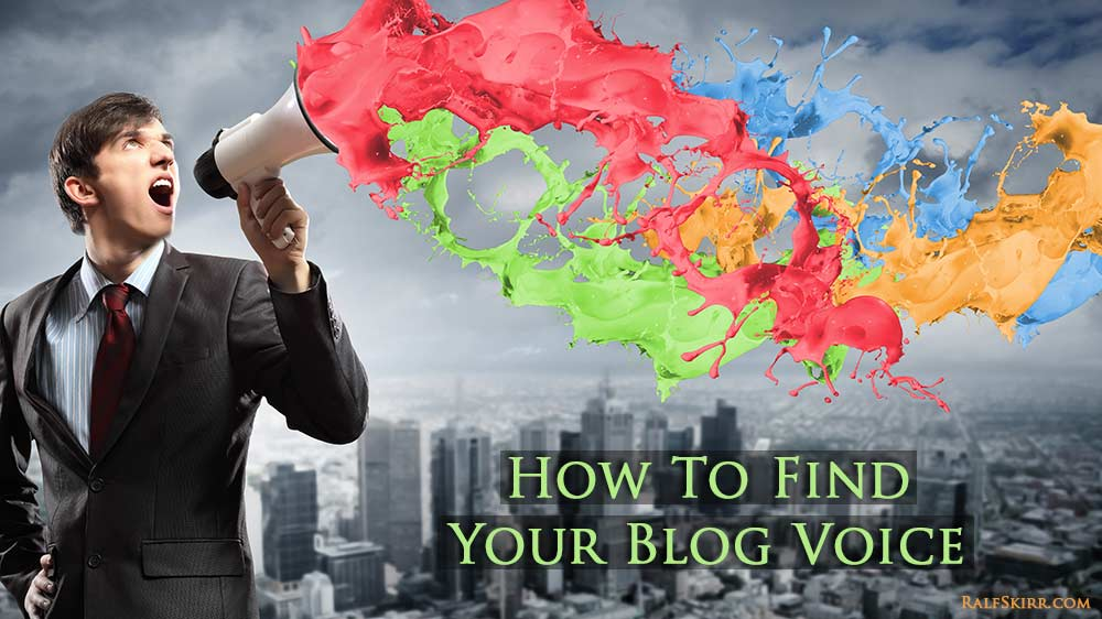 Abstract image represents finding your blog voice.