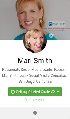 G-Plus Mari Smith