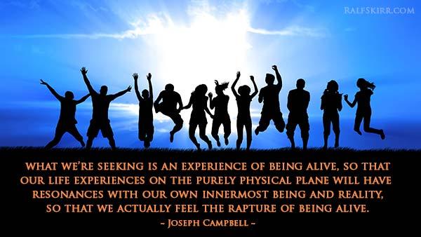Joseph Campbell quote.