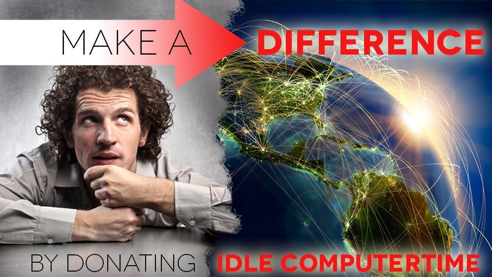 Image Global Network, representing WorldCommunityGrid.